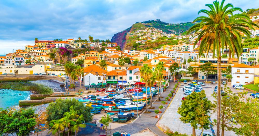 Madeira - Blick auf Câmara de Lobos