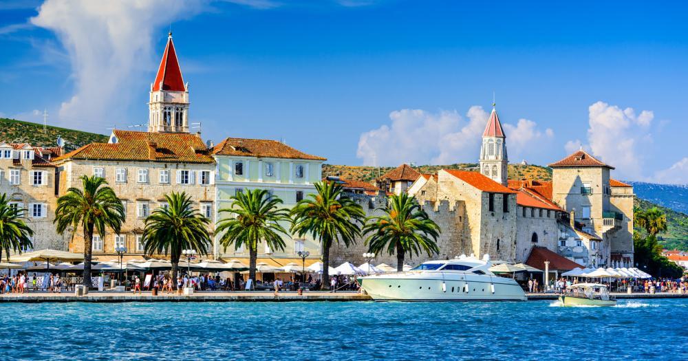 Trogir - Blick auf die Stadt