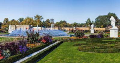 Herrenhäuser Gärten /  Herrenhäuser Gärten Panorama