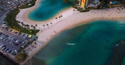 Waikiki Beach / Hilton-Lagune