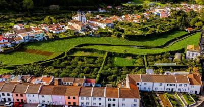 Terra-Nostra-Park / Sao Miguel aus der Luft