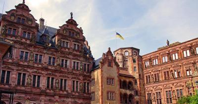 Schloss Heidelberg / Innenhof des Schlosses