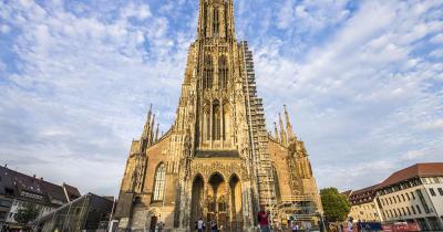 Ulmer Münster / Frontansicht der Ulmer Münster
