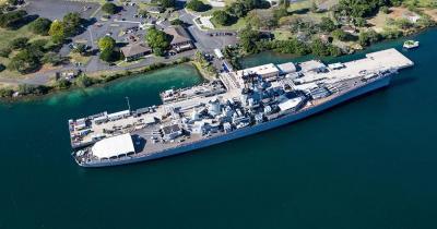 Pearl Harbor / Schlachtschiff Missouri
