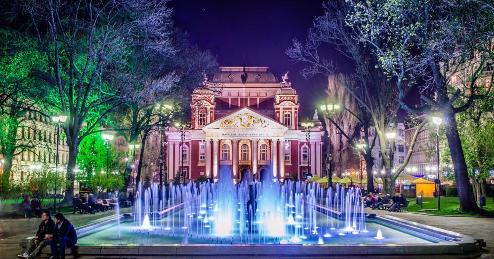 Sofia - Blick auf das Nationaltheater Iwan Wasow