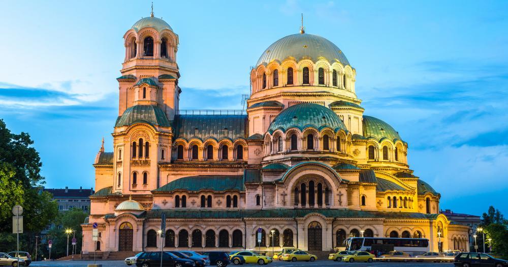 Sofia - Blick auf die Alexander-Newski-Kathedrale
