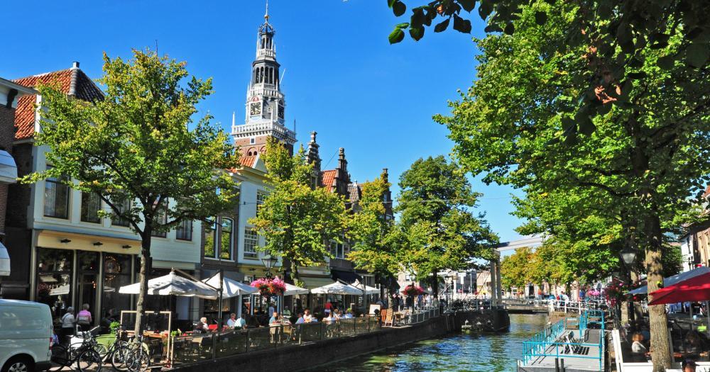 Den Haag - Blick auf den Kanal Alkmaar