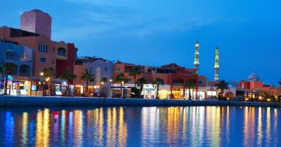 Hurghada Sekalla - Pulsierendes Abendleben