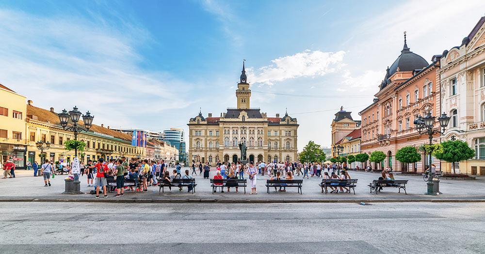 Novi Sad / Freiheitsplatz