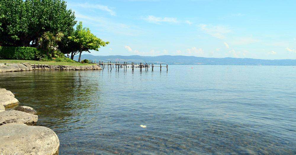 Bolsenasee / der Bolsenasee im Sommer
