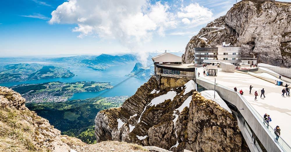Vierwaldstättersee / der Berg Pilatus