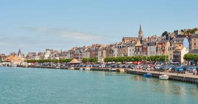 Deauville / Hafen von Deauville