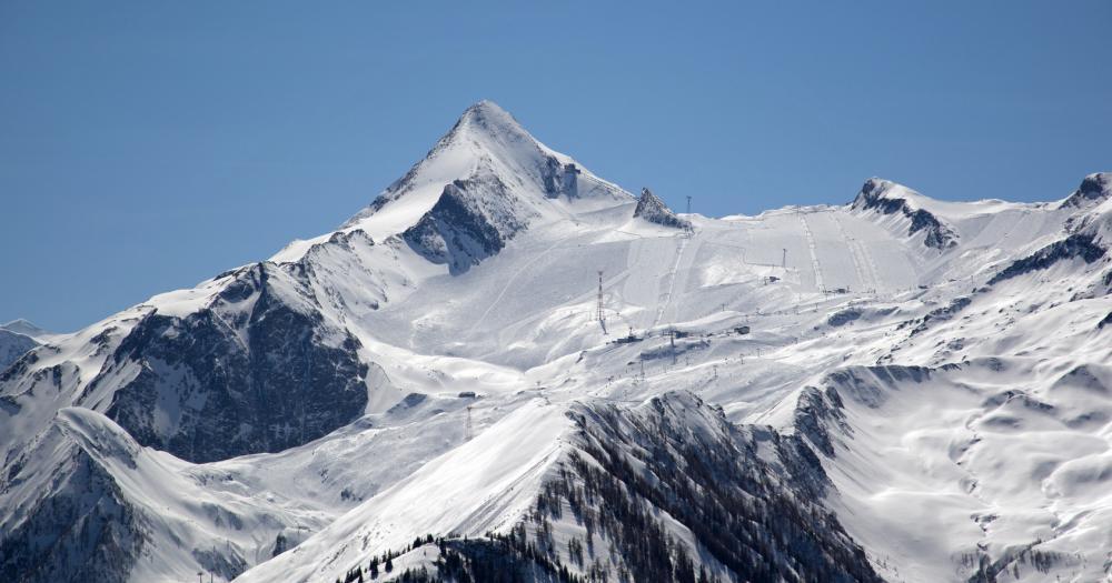Zell am See - Blick auf das Kitzsteinhorn