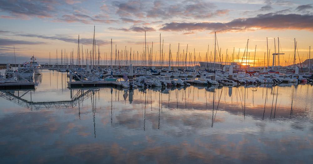 Le Havre / der Hafen von Le Havre