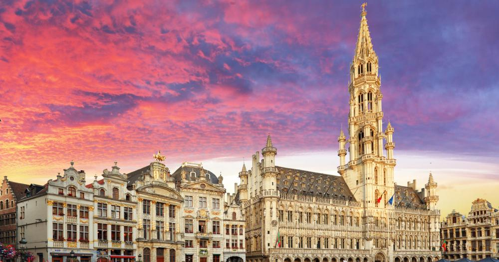 Brüssel - Blick auf den Grand-Place