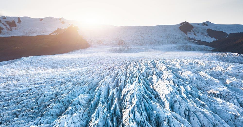 Vatnajökull-Nationalpark / Vatnajökull Gletscher