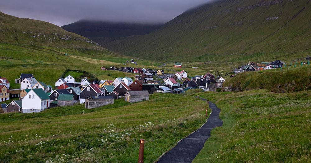 Färöer Inseln / Gjógv
