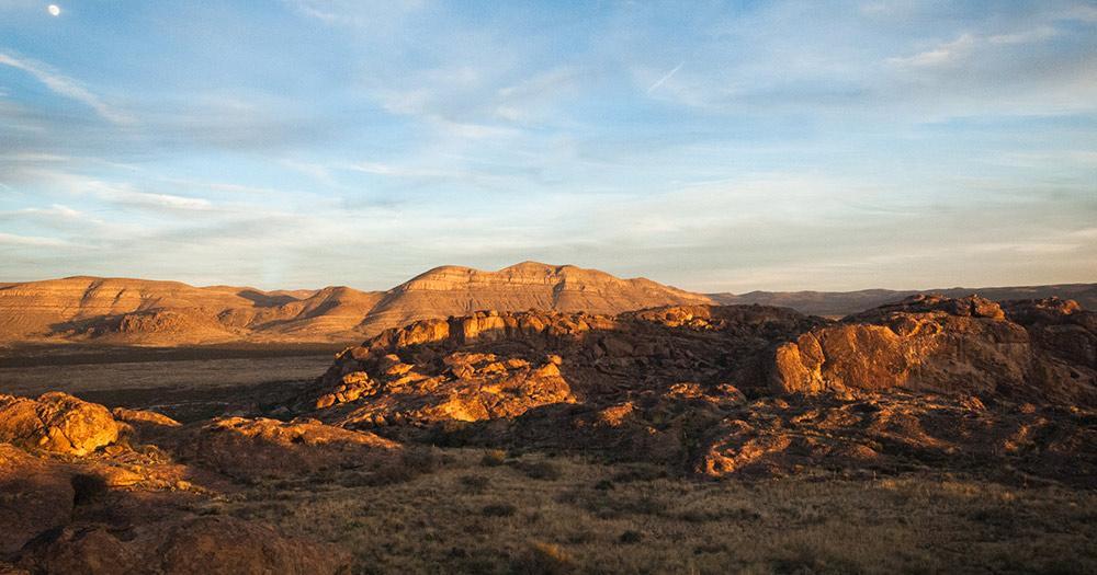 El Paso / die Landschaft von El Paso
