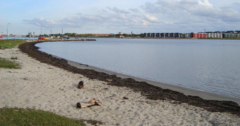 Aalborg / der Strand von Egholm