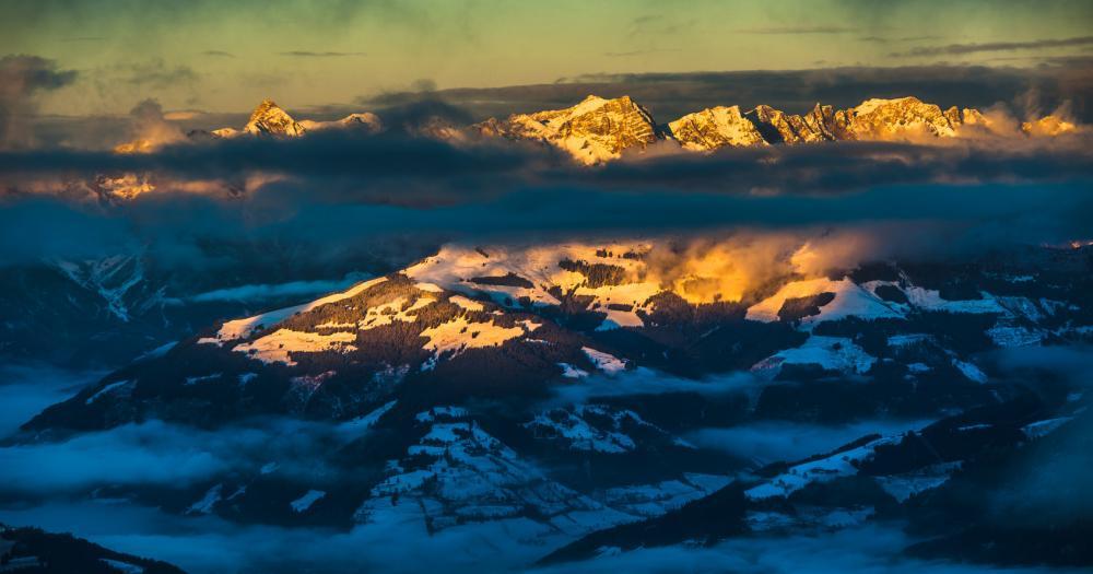 Kaprun - Blick auf das Ski Resort
