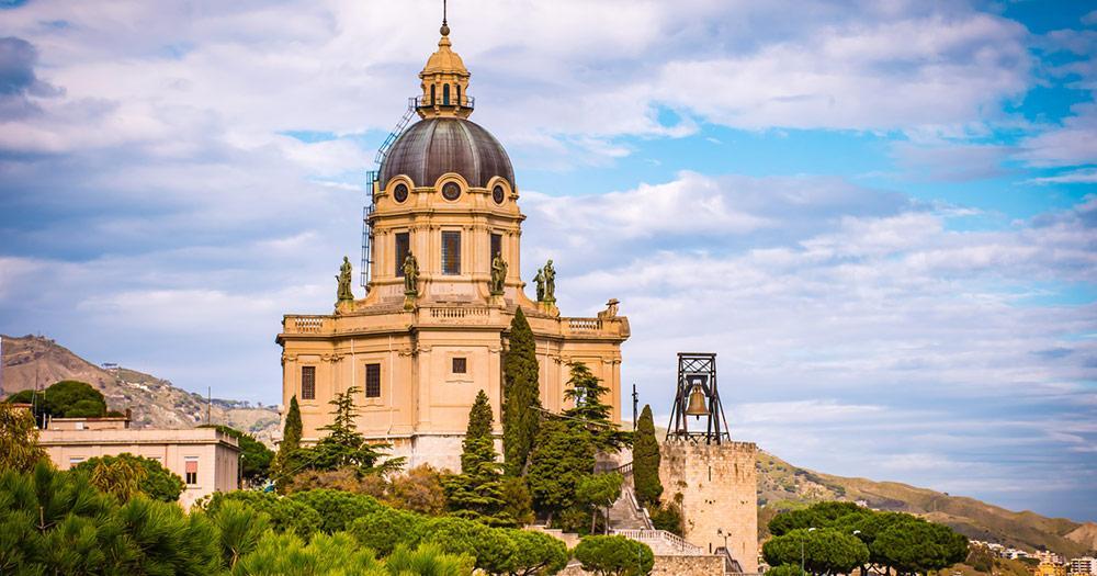 Messina / die Kirche von Messina