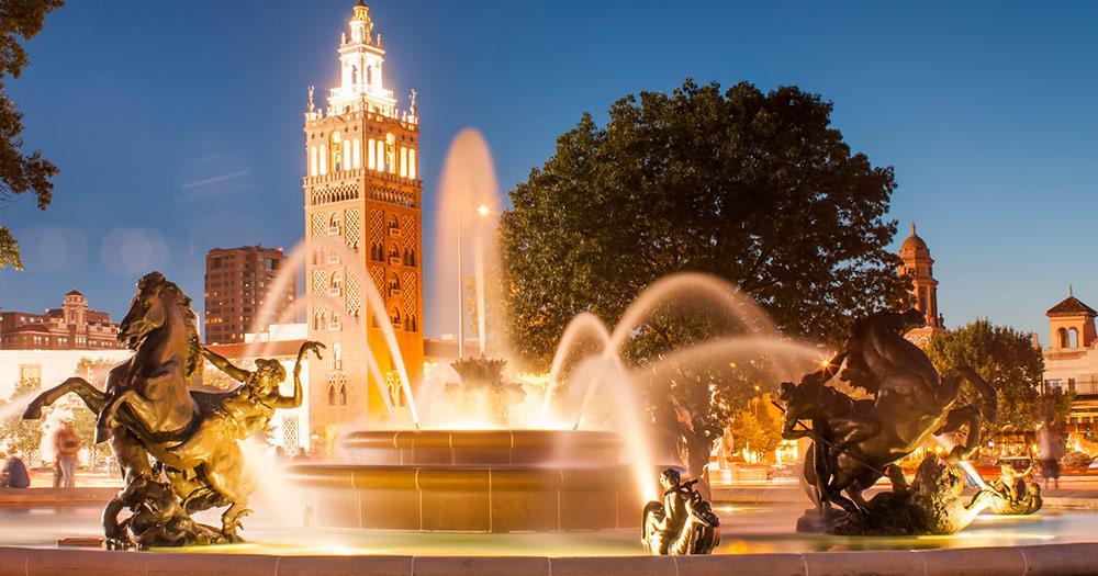 Kansas City /  Missouri Fountain in Kansas City