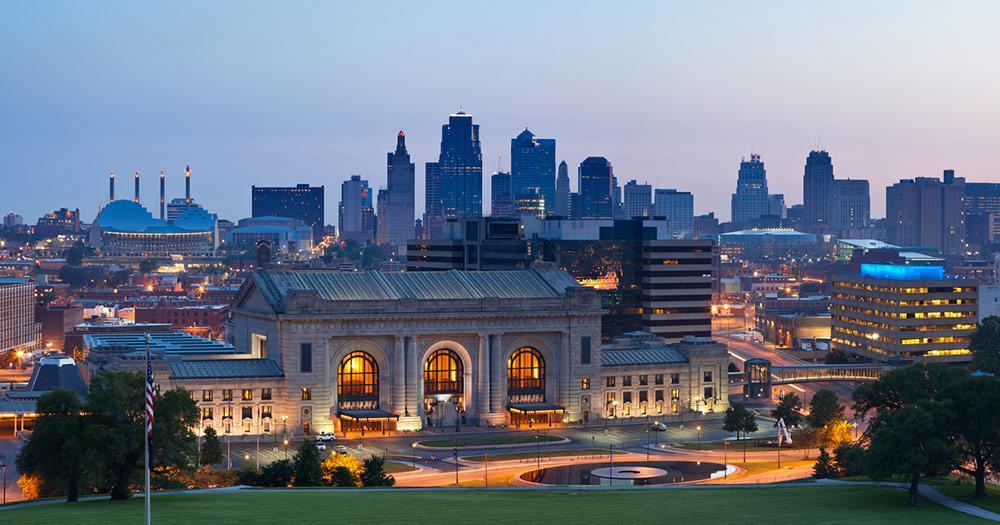 Kansas City / Kansas City bei Nacht