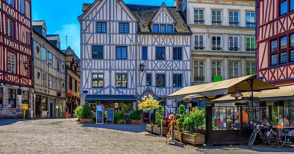 Rouen / Innenstadt von Rouen