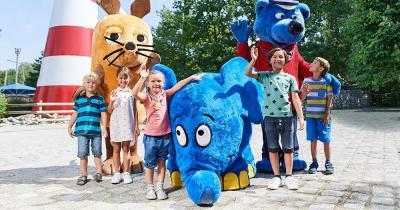 Ravensburger Spieleland / Kinder mit ihren Fernsehlieblingen