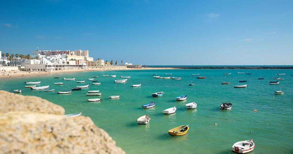 Cádiz / der Hafen von Cádiz