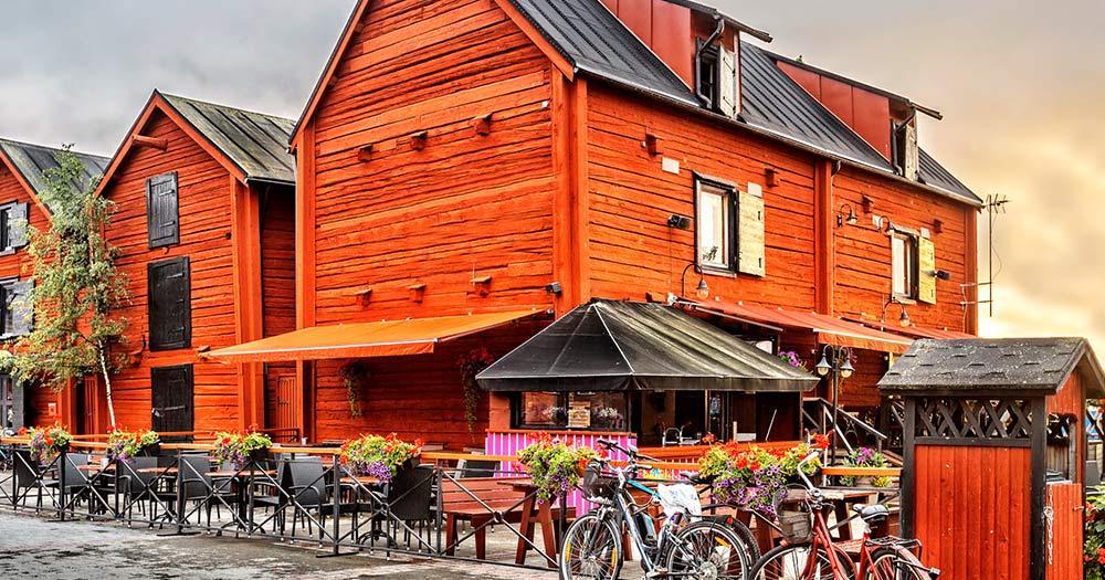 Oulu / Häuser in Oulu