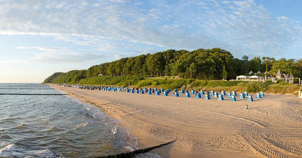 Usedom / der Strand von Usedom