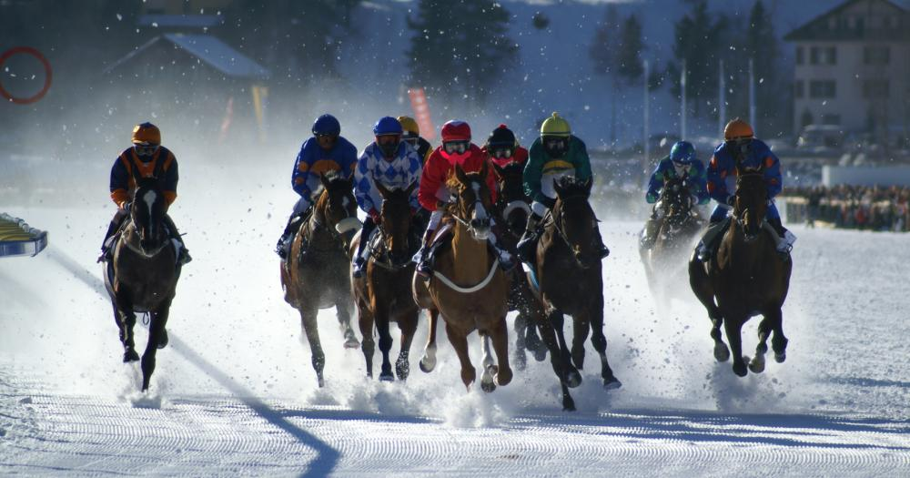 St.Moritz - Pferderennen White Thurf