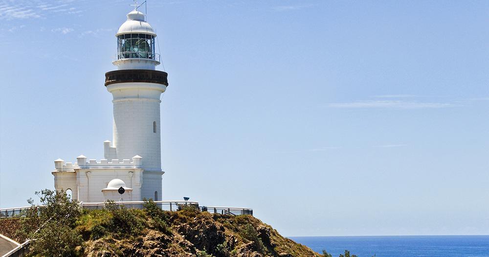 Byron Bay / der Leutturm Cape Byron