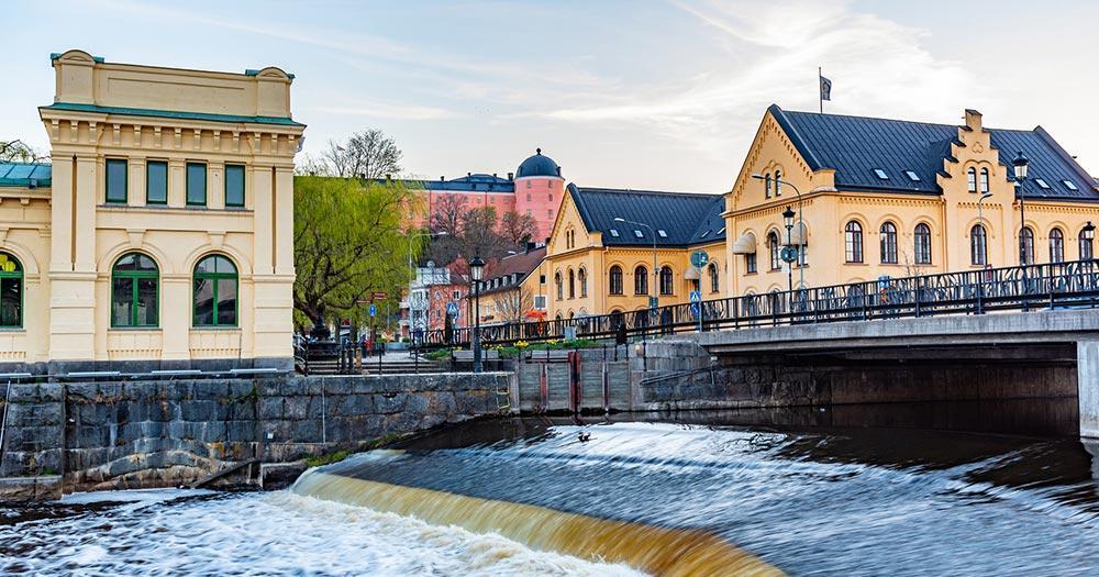 Uppsala / Häuser in Uppsala