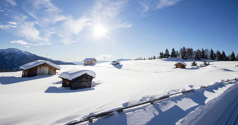 Gitschberg Jochtal - Winterpanorama