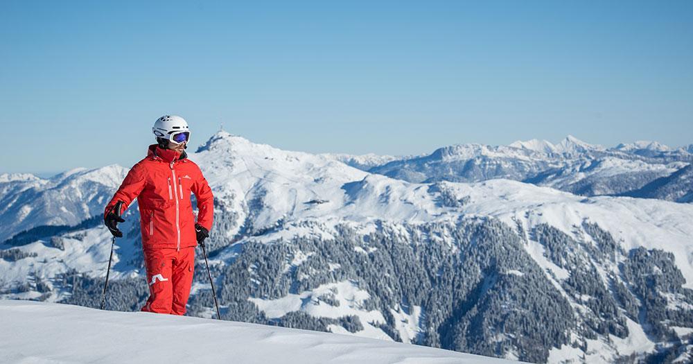 Kitzbühel - Blick auf die Kitzbühler Alpen