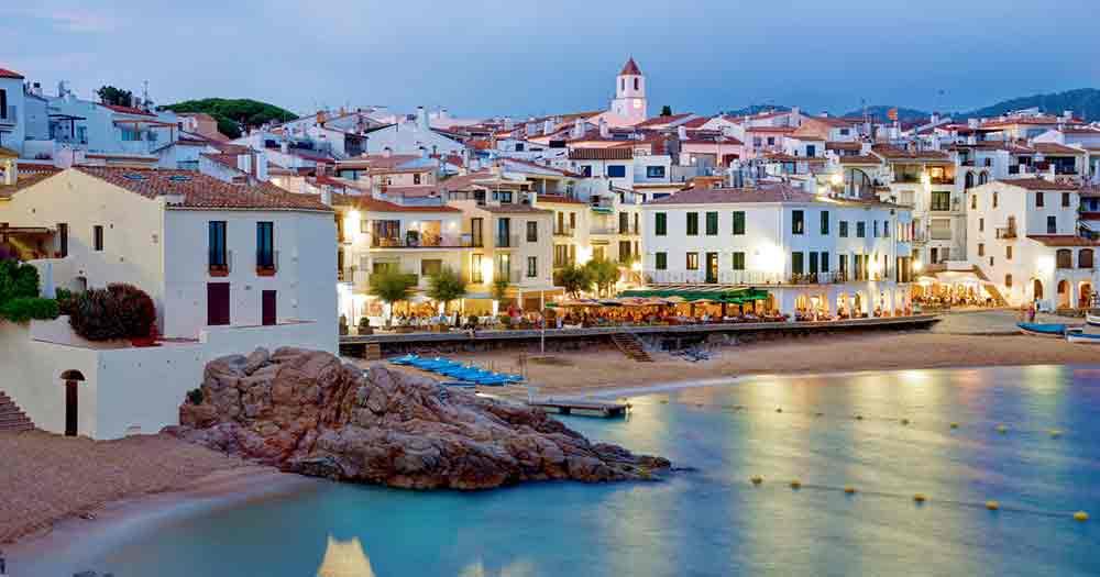 Costa Brava - In der Abenddämmerung