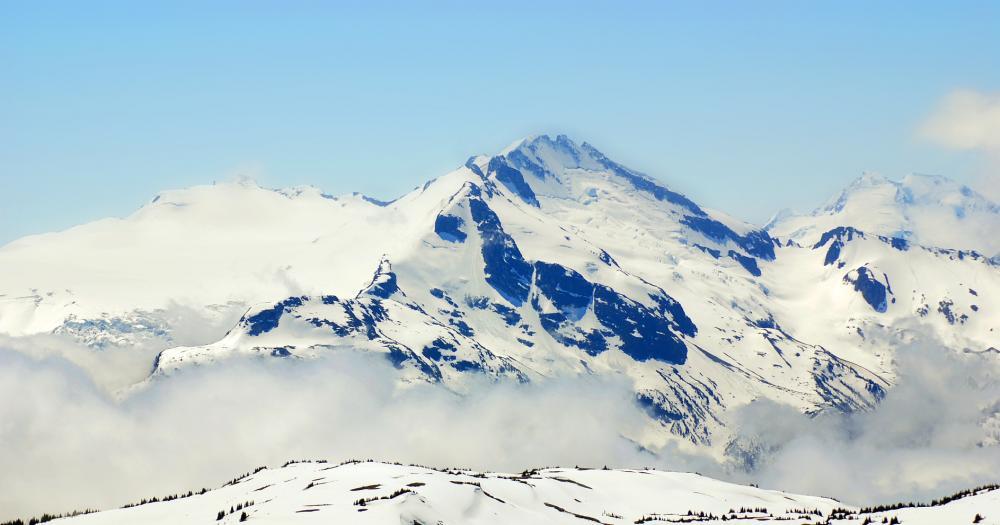 Whistler-Blackcomb - Blick auf den Whistler Mountain