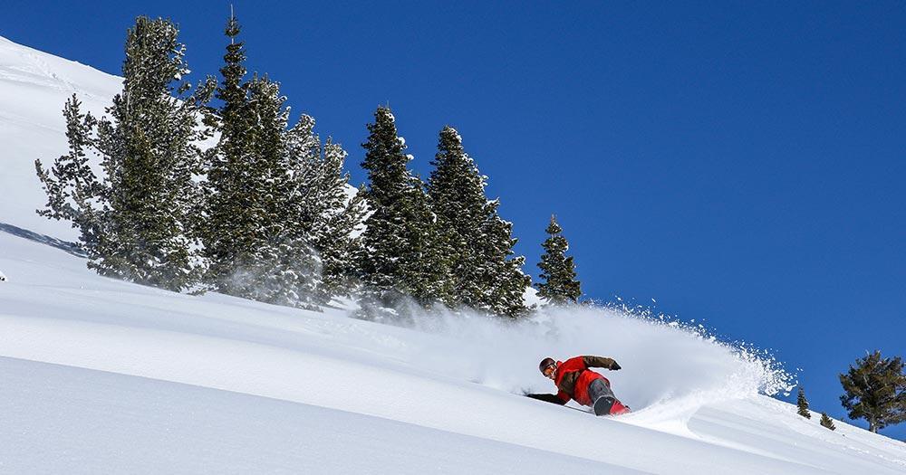 Park City - Tiefschneetraum für Snowboarder