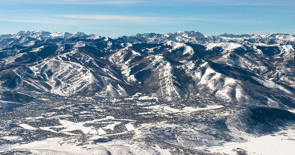 Park City - Winterpanorama