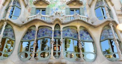 Casa Batlló / Nahaufnahme von Casa Batlló
