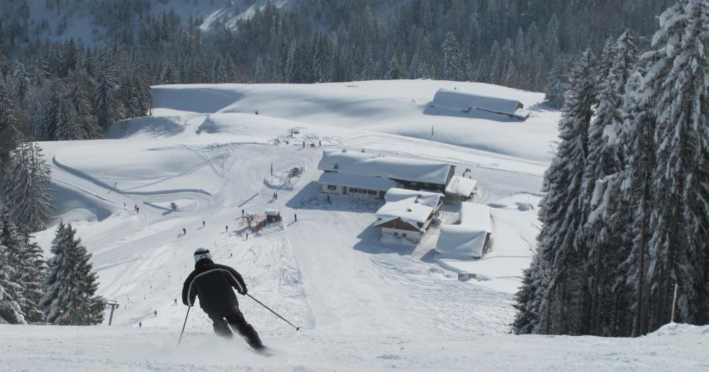 Oberstaufen - Skiabfahrt