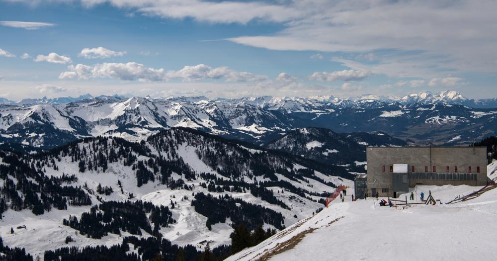 Oberstaufen - Blick auf den Hochgrat