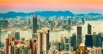 Victoria Peak / der Panoramablick über Hongkong
