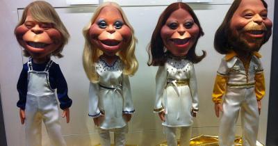 ABBA The Museum / ABBA Puppen