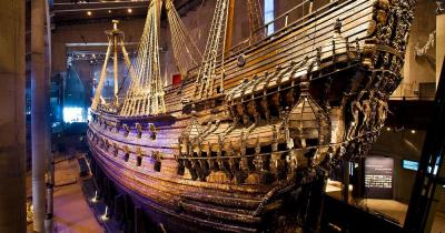 Vasa-Museum / das Vasa-Museum von innen