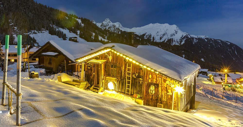 Sölden - Romantische Winterstimmung