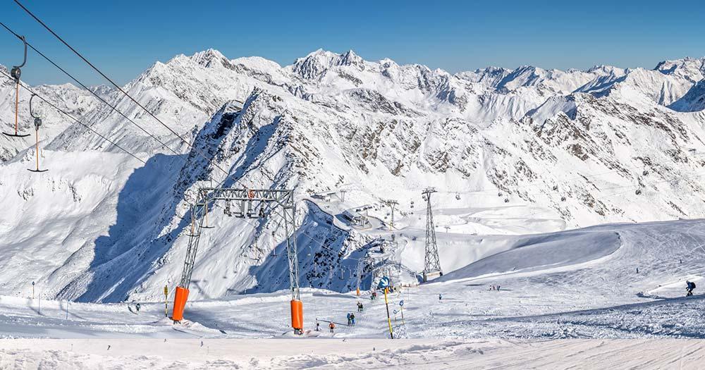 Sölden - Winterpanorama