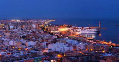 Almería / Luftaufnahme von Almería